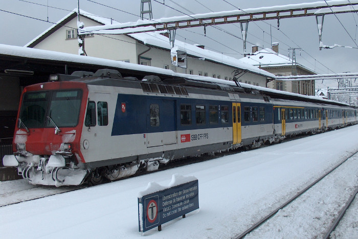 Treinreis Hochfuegen, Met de trein naar Hochfugen